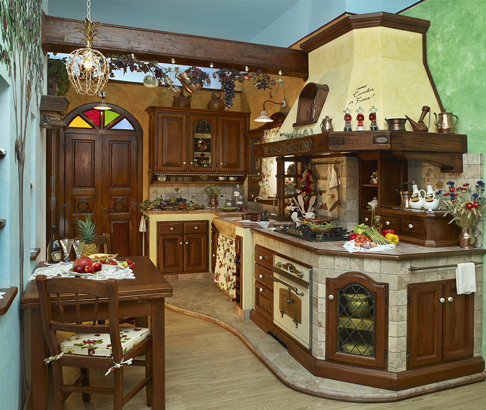 Cucine Di Campagna In Muratura. Beautiful Cucina Rustica With Cucine ...