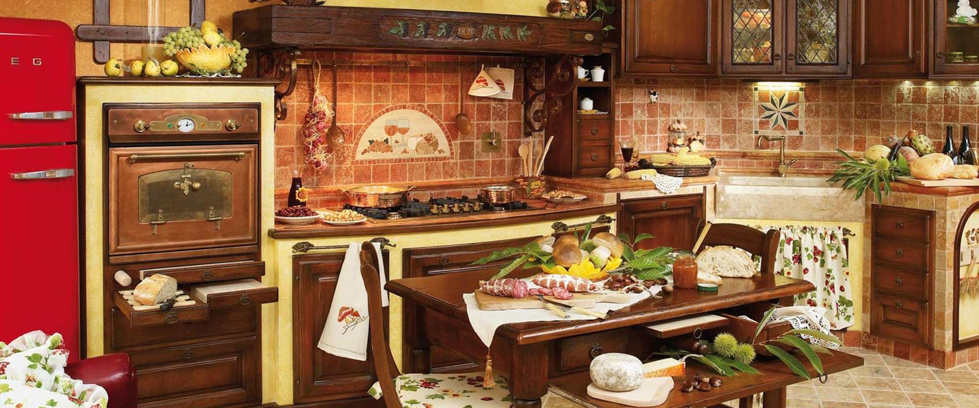Cucine in Finta Muratura - Fonte del Rustico