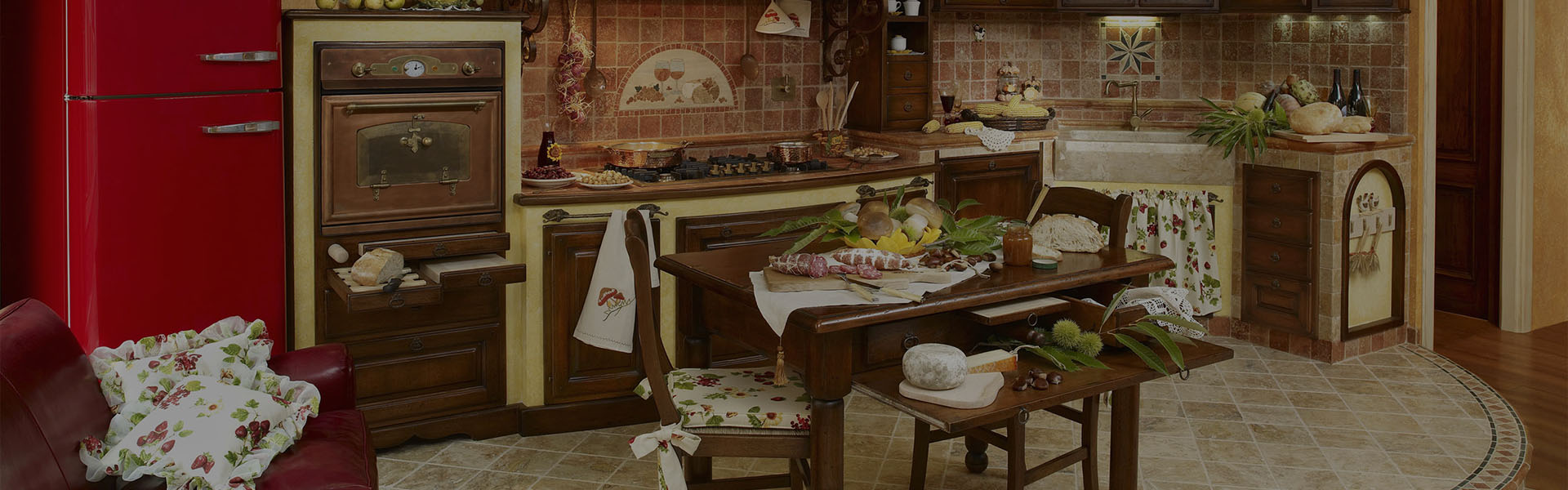 Cucine rustiche in muratura fonte del rustico - Oggettistica per cucina ...