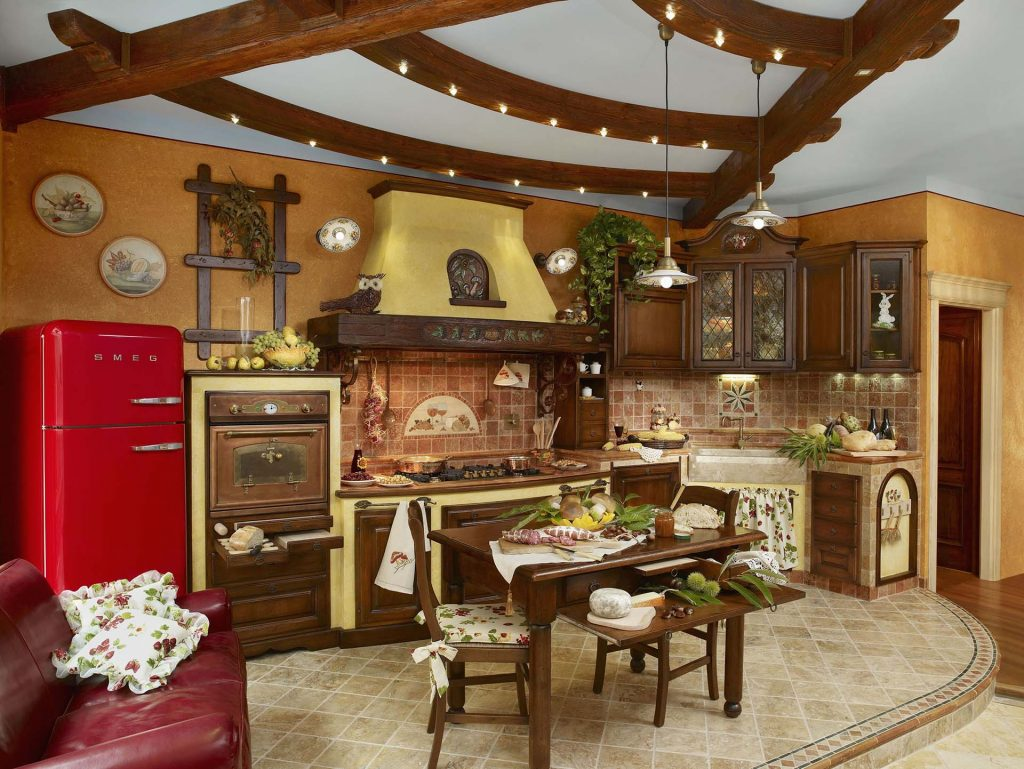 Cucine Rustiche Per Case Di Campagna : Cucine rustiche fonte del rustico cucine d eccellenza italiana
