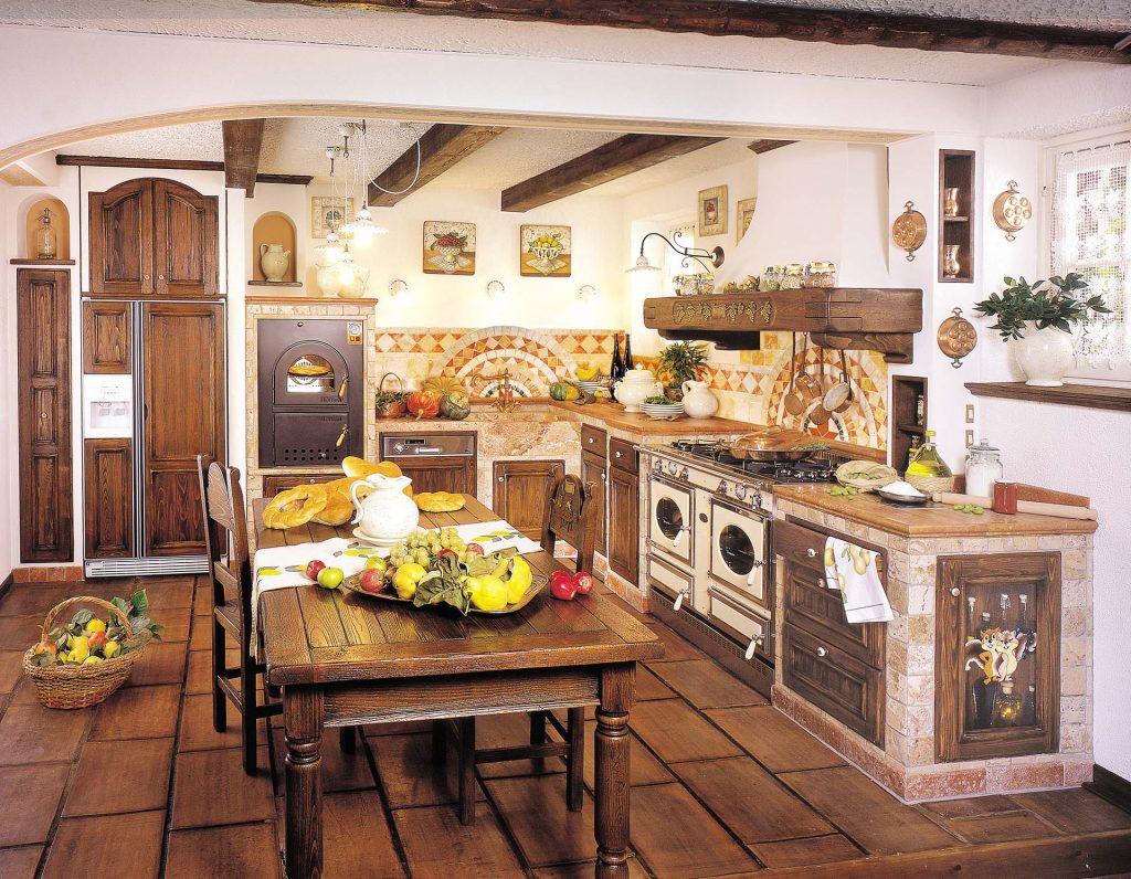 Cucine Rustiche e in Finta Muratura - Fonte del Rustico